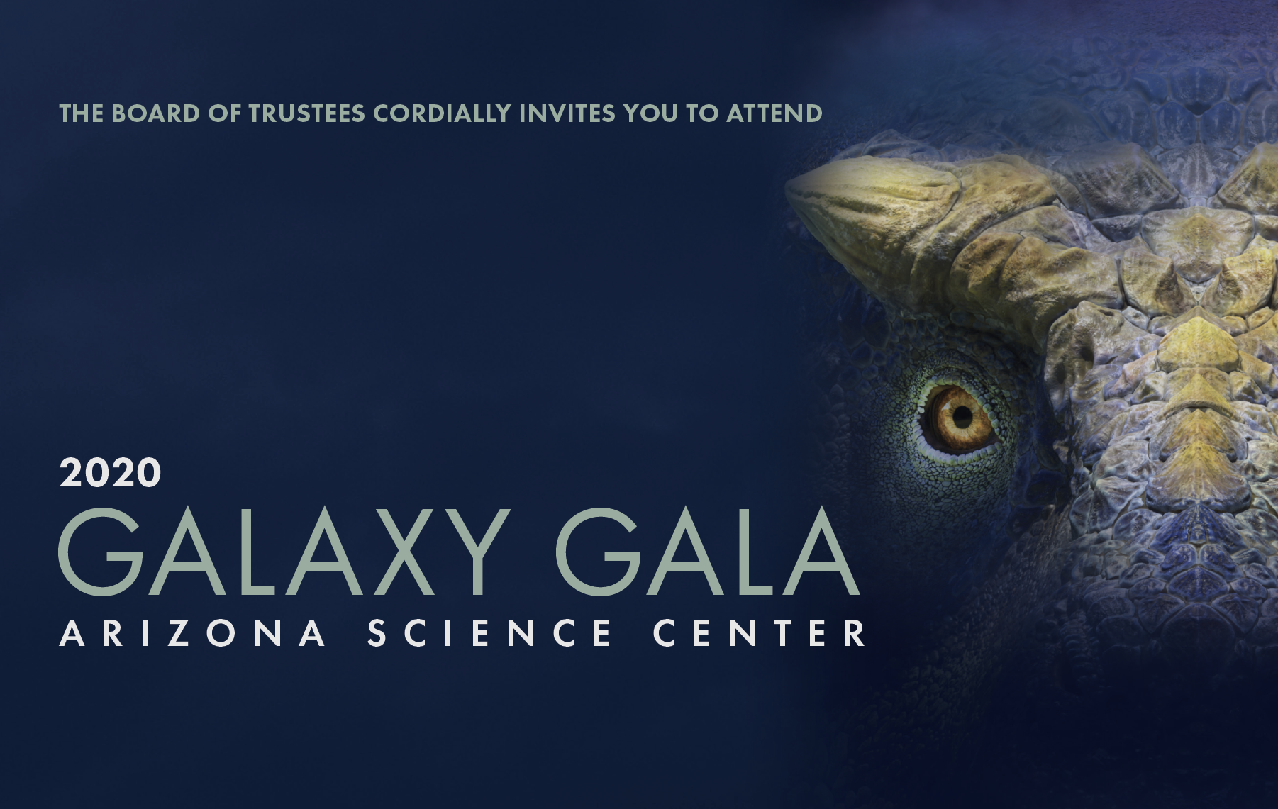Galaxy Gala 2020 Invitation
